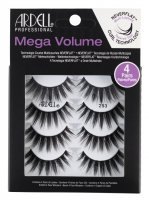 ARDELL - Mega Volume - 4 Pairs - Set of 4 pairs of lashes on a strip - 253 - 253