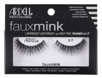 ARDELL - FAUX MINK - Luxuriously Lightweight with invisiband - Artificial strip eyelashes - 817 - 817