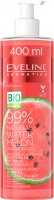 EVELINE  COSMETICS- 99% Natural Water Melon - Moisturizing & Soothing Body and Face Hydrogel - Moisturizing and soothing watermelon body and face hydrogel - 400 ml