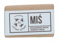 Mydlarnia Cztery Szpaki - Natural soap with cocoa butter and lanolin - Miś - 110 g