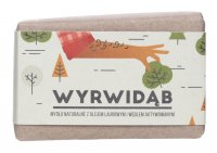 Mydlarnia Cztery Szpaki - Natural soap with laurel oil and activated charcoal for men - Wyrwidąb - 110 g
