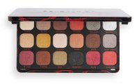 MAKEUP REVOLUTION - FOREVER FLAWLESS SHADOW PALETTE - Palette of 18 eyeshadows - MIDNIGHT ROSE
