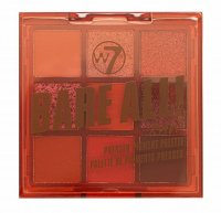 W7 - BARE ALL - PRESSED PIGMENT PALETTE - Palette of 9 eyeshadows - RAW