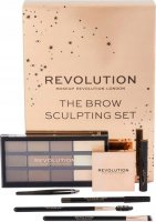 MAKEUP REVOLUTION - THE BROW SCULPTING SET - Set of eyebrow makeup cosmetics