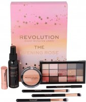 MAKEUP REVOLUTION - THE EVENING ROSE - A set of cosmetics and makeup accessories