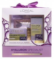 L'Oréal - HYALURON SPECIALIST - Gift set of face care cosmetics - Face cream + Eye cream + Sheet mask