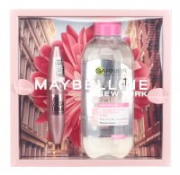MAYBELLINE - Gift set of cosmetics - Lash Sensational Mascara + Garnier Micellar Liquid 3in1 400 ml