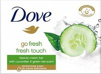 Dove - Fresh Touch Beauty Cream Bar - Creamy bar of soap with cucumber extract - 100 g