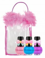 VIPERA - Tutu Set - Gift set of 3 Peel Off nail polishes for children in a cosmetic bag - 11