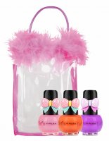 VIPERA - Tutu Set - Gift set of 3 Peel Off nail polishes for children in a cosmetic bag - 16