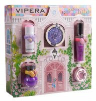 VIPERA - Magic Tutu Collection - Gift set of 5 cosmetics for children + House - 05 Violet Coupe
