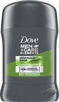 Dove - Men + Care Elements - Minerals Sage - 48H Anti-Perspirant - Antiperspirant stick for men - 50 ml