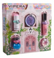 VIPERA - Magic Tutu Collection - Gift set of 5 cosmetics for children + House - 00 Mix