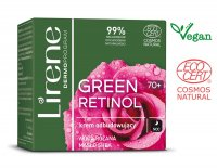 Lirene - GREEN RETINOL 70+ Rebuilding night face cream - 50 ml