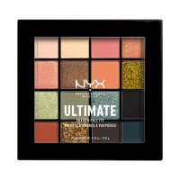 NYX Professional Makeup - ULTIMATE SHADOW PALETTE - Palette of 16 eyeshadows - 12 ULTIMATE UTOPIA