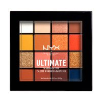 NYX Professional Makeup - ULTIMATE SHADOW PALETTE - Palette of 16 eyeshadows- 11 ESCAPE ARTIST
