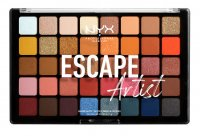 NYX Professional Makeup - ESCAPE Artist - Shadow Palette - Palette of 40 eyeshadows