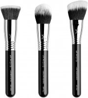 Sigma® - COMPLEXION AIR BRUSH SET - Set of 3 make-up brushes