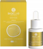 BASICLAB - ESTETICUS - Anti-wrinkle treatment - Smoothing and nourishing face serum - Day / Night - 15 ml