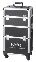 NYX Professional Makeup - 4 Tier Mkup Artist Train Case - Roller cosmetic box