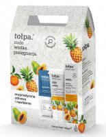 Tołpa - Sebio - Face care set - Peeling 40 ml + Face wash gel 150 ml + Mask-compress 2 x 6 ml