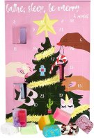 Bomb Cosmetics - Bathe, Sleep, Be Merry & Repeat Advent Calendar Gift Pack - Advent calendar with bath cosmetics