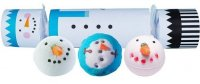 Bomb Cosmetics - Cracker Gift Pack - Candy-shaped gift set - FROSTY THE SNOWMAN