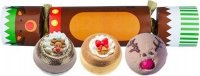 Bomb Cosmetics - Cracker Gift Pack - Candy-shaped Gift Set - RED NOSED REINDEER
