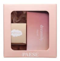 PAESE - Christmas set No. 2 - Palette of 8 Dreamily eye shadows + Puff Cloud eye powder 5.3 g
