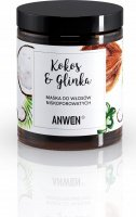ANWEN - Coconut & Clay - Mask for low porosity hair - 180 ml