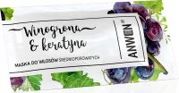 ANWEN - Grapes and Keratin - Mask for medium porosity hair - 10 ml