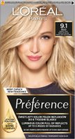L'Oréal - Préférence - Permanent Haircolor 9.1 OSLO - VIKING LIGHT ASH BLONDE - Hair dye - Permanent coloring - Very Light Ash Blonde