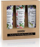ANWEN - Proteins, Emollients, Humectants - A set of high porosity hair conditioners - Moisturizing Lilac, Emollient Rose, Protein Orchid - 3x100 ml