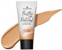 Essence - Pretty Natural Hydrating Foundation - Moisturizing face foundation with hyaluronic acid and aloe - 30 ml