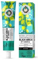 Agafia - Natural Toothpaste - Black Birch Of Siberia - Toothpaste with Siberian birch extract - Whitening - 85 g
