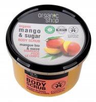 ORGANIC SHOP - BODY SCRUB - Illuminating body scrub - Kenyan Mango - 250 ml