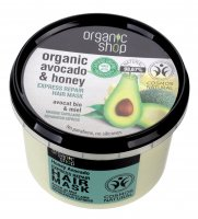 ORGANIC SHOP - Express Repair Hair Mask - Organic Avocado & Honey - Express regenerating hair mask - Honey Avocado - 250 ml