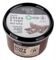 ORGANIC SHOP - BODY SCRUB - Body scrub - Belgian chocolate - 250 ml