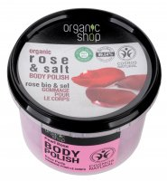 ORGANIC SHOP - BODY POLISH - Body paste - Pearl rose - 250 ml