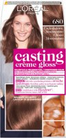 L'Oréal - Casting Créme Gloss - Caring without ammonia - 680 Chocolate Mochaccino