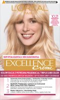 L'Oréal - EXCELLENCE Creme - Hair coloring with triple care - 10.21 Very Very Light Pearl Blonde