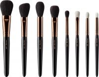 Hakuro - Set of 8 brushes for face and eye make-up - JZ1 C