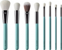 Hakuro - Set of 8 brushes for face and eye make-up - KZ1