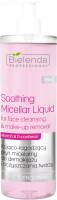 Bielenda Professional - Soothing Micellar Liquid For Face Cleansing & Make-up Removal - Soothing and soothing micellar liquid for make-up removal and facial cleansing - 500 ml