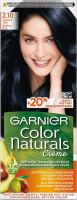 GARNIER - COLOR NATURALS Creme - Long-lasting, nourishing hair coloring - 2.10 Blueberry Black
