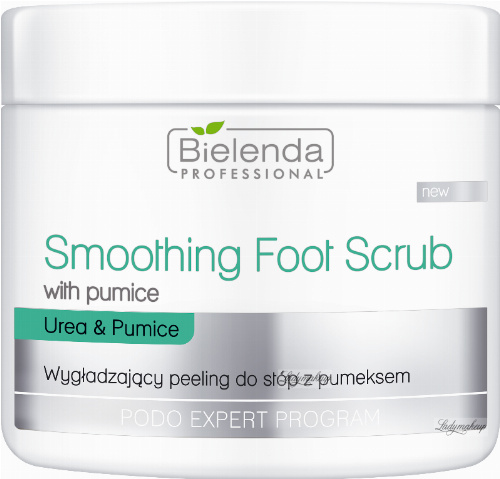 Bielenda Professional - Smoothing Foot Scrub - Smoothing foot scrub with pumice stone - 500 ml