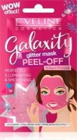 Eveline Cosmetics - Galaxity Glitter Mask Peel Off - Brightening and smoothing mask with particles - Peel Off - Brilliant Princess - 10 ml