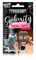 Eveline Cosmetics - Galaxity Glitter Mask Peel Off - Cleansing and regenerating mask with particles - Peel Off - Starry Night - 10 ml