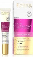 Eveline Cosmetics - 100% bioBACCHIOL - Strongly lifting eye and eyelid concentrate - Sensitive skin - Day / Night - 20 ml
