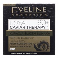 Eveline Cosmetics - ROYAL CAVIAR THERAPY 60+ - Luxurious face cream concentrate with snail slime - 50 ml